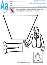 Occupation Craft Worksheets | Job Paper Crafts