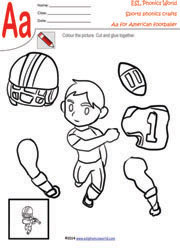 sports-craft-worksheets