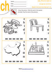 ch-digraph-anagram-worksheet