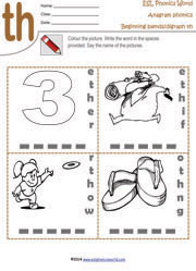 th-digraph-anagram-worksheet
