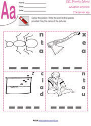 letter-a-anagram-worksheet