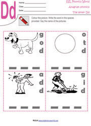 letter-d-anagram-worksheet