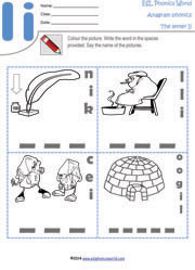 letter-i-anagram-worksheet