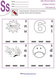 letter-s-anagram-worksheet