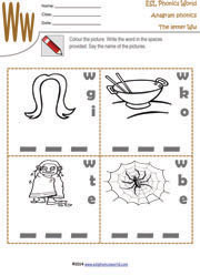 letter-w-anagram-worksheet