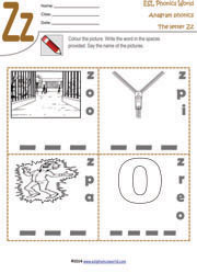 letter-z-anagram-worksheet