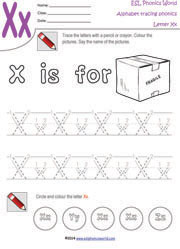 letter-x-handwriting-tracing-worksheet