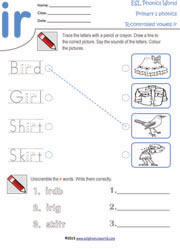 r-controlled-vowel-worksheets